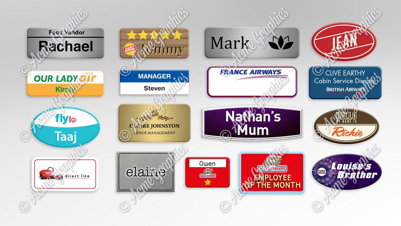Work-Name-badges