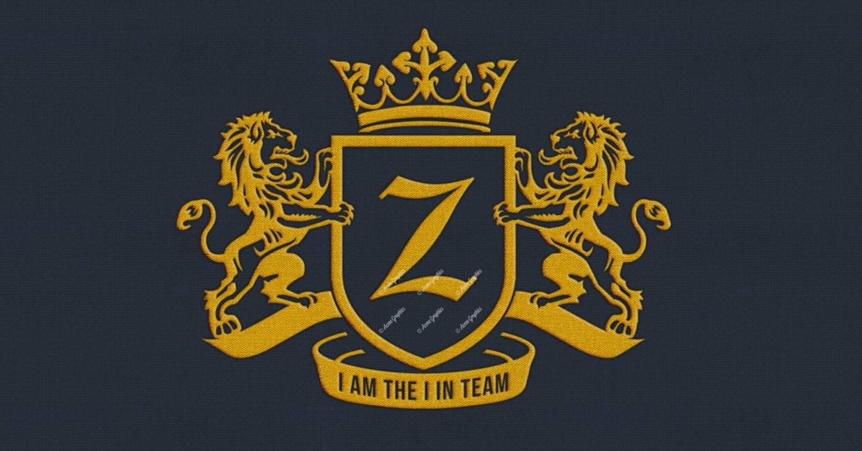 Zlatan badge logo design