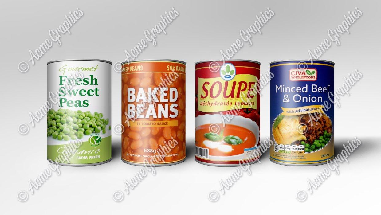 Tin cans smaller