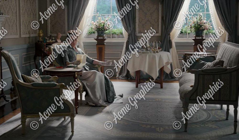 Bridgerton drawing room set