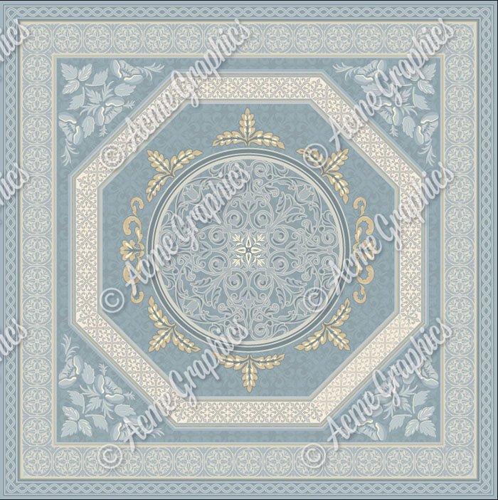 Bridgerton drawing room rug design