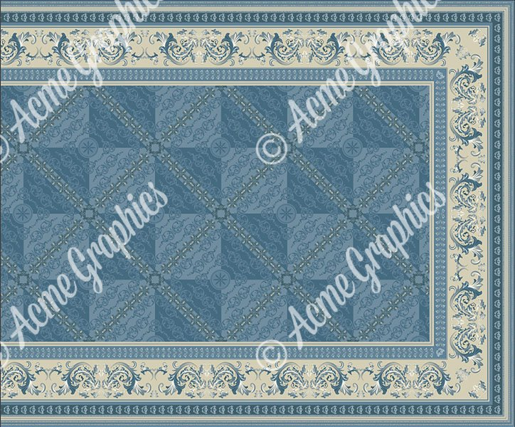 Acme stair rug designs for Bridgerton